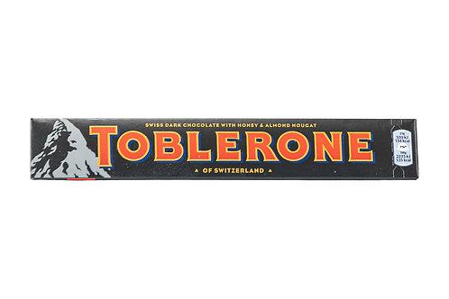 Toblerone Swiss Dark Chocolate w/Honey & Almond Nougat