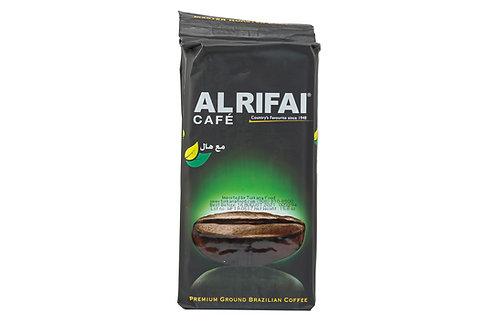 Alrifai Café Premium Ground Brazilian Coffee 100% Arabica w/Cardamom