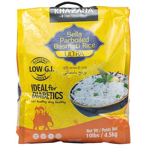 Khazana Sella Parboiled Basmati Rice
