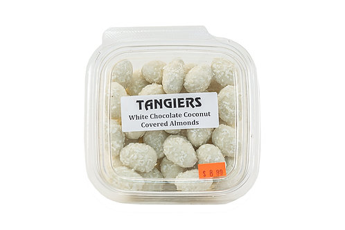 Tangiers White Chocolate Coconut Almonds