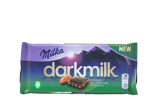 Milka Milk Chocolate w/Extra Cocoa & Almond