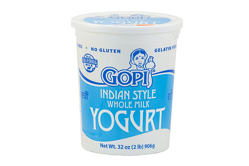 Gopi Indian Style Whole Milk Yogurt