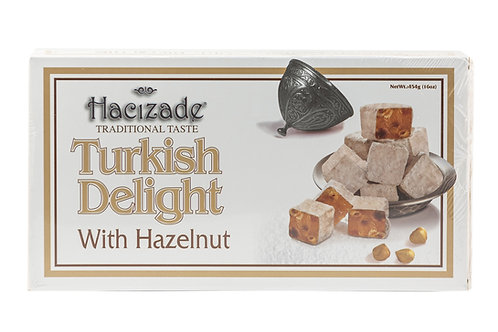Hacizade Turkish Delight w/Hazaelnut