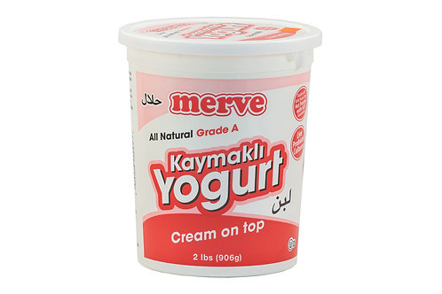 Merve Cream on Top Yogurt
