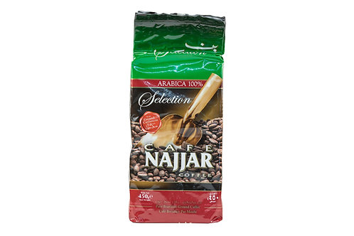 Café Najjar Coffee Pure Brazilian Ground Coffee 100% Arabica w/Cardamom