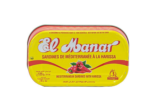 El Manar Sardines with Harissa