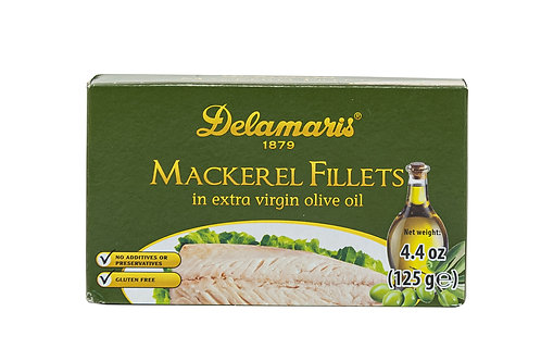 Delamaris Mackerel Fillets in Extra Virgin Olive Oil