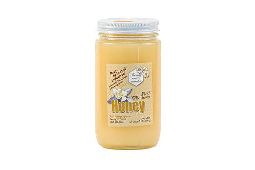 Alba Flower Apiaries Pure Wildflower Honey Raw, Unheated, Unfiltered