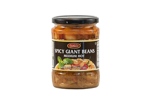 Zergut Spicy Giant Beans Medium Hot