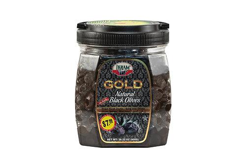 Ikram Gold Natural Black Olives