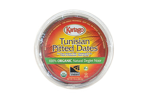 Kartago Organic Tunisian Pitted Dates