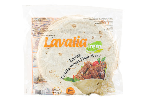 Irem Tortilla Wheat Flour Wrap 9 Wraps