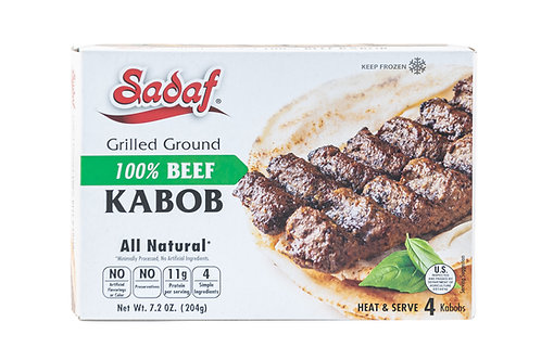 Sadaf Grilled 100% Ground Beef Kabob