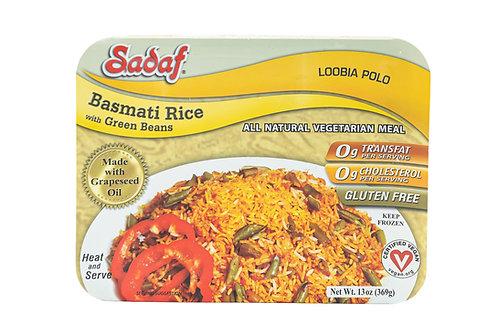 Sadaf Basmati Rice w/Green Beans
