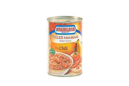 Americana Peeled Fava Beans w/Chili