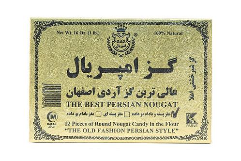 Gaz Round Nougat Candy in Flour