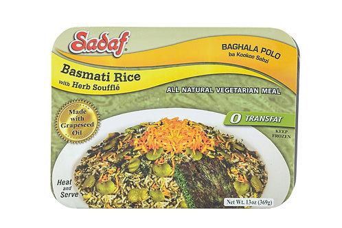 Sadaf Basmati Rice w/Herb Souffle
