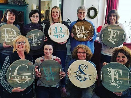 Personalized Serving Tray Workshop - Sunday July 15