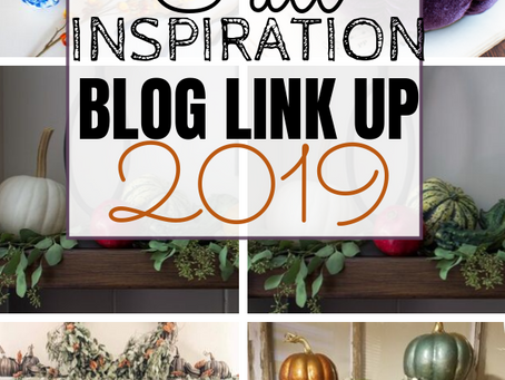 Fall Inspiration: Gold Kissed Pumpkin Topiary