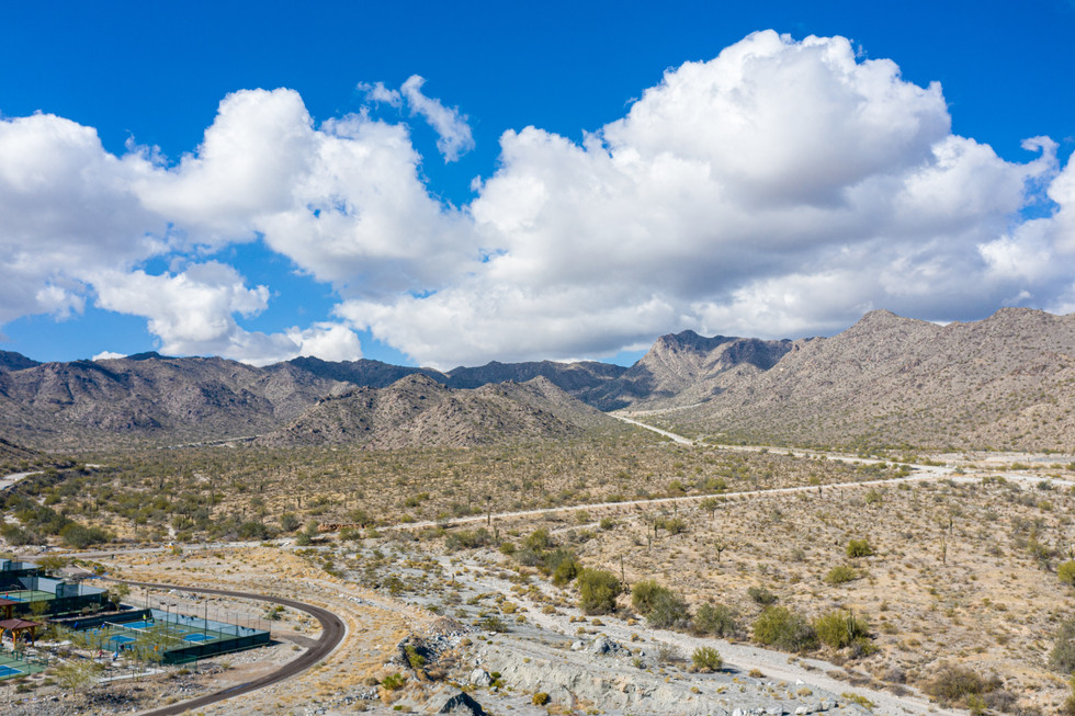 Cumulus Clouds over the White Tank Mountains at Verrado!