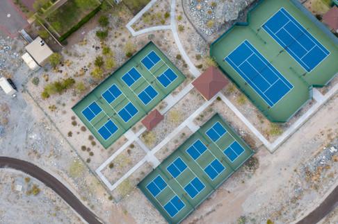 "Pickleball and Tennis at ""Victory"" in Verrado, AZ."
