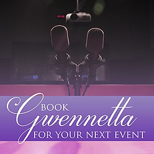 Book Gwenetta For Your Next Even