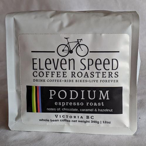 PODIUM ESPRESSO - Sweet, syrupy & powerful