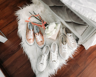 How to style sneakers with dresses