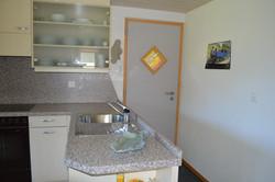 Eingang mit Küche