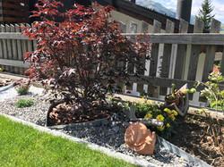 Wunderschöne Gartengestaltung