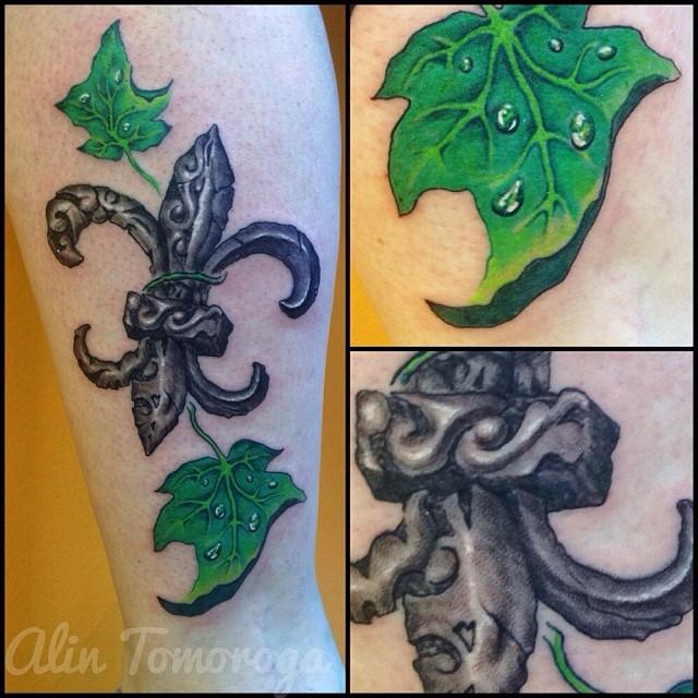 Fleur du Lis and Ivy