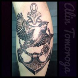 Sparrow and Anchor