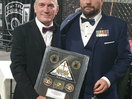 Chief Instructor Glenn Irvine wins National KEF-IC Instructor Award