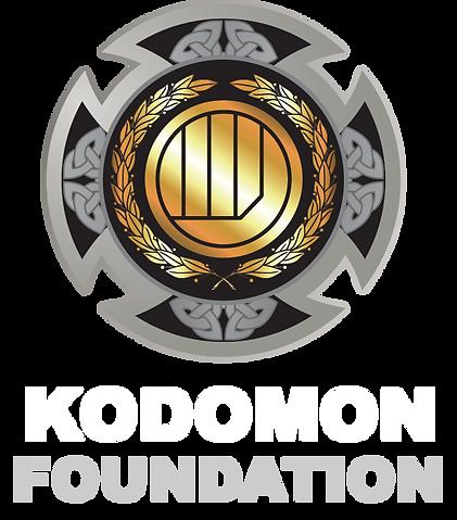 Kodomon Foundation Sponsor Logo Inverted