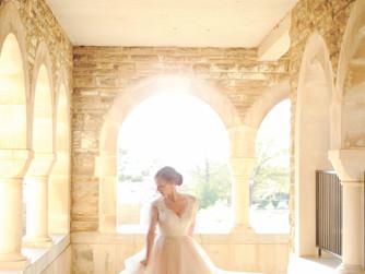 ALEXANDRIA {Arkansas Bride + Subiaco Academy}