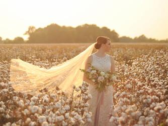 Hannah | Cotton Field Bride {Star City, Arkansas}