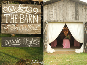 Cassie | Kyle {The Barn at Twin Oaks Ranch}
