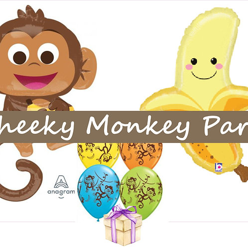 Cheeky Monkey Balloon Kit