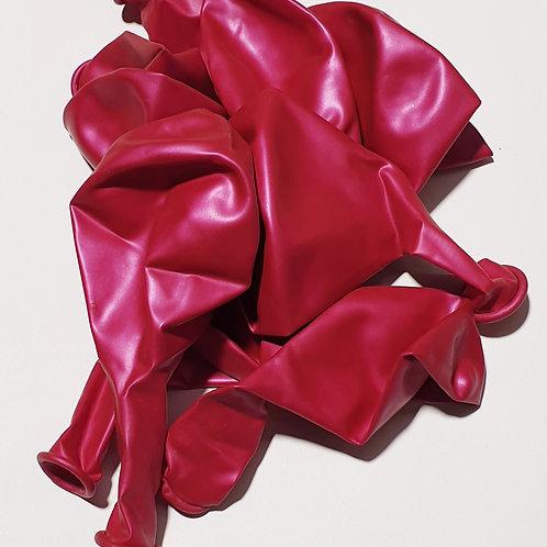 Metallic Hot Pink Balloon - 30cm - each