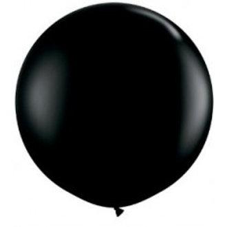 Giant 90cm Black Balloon