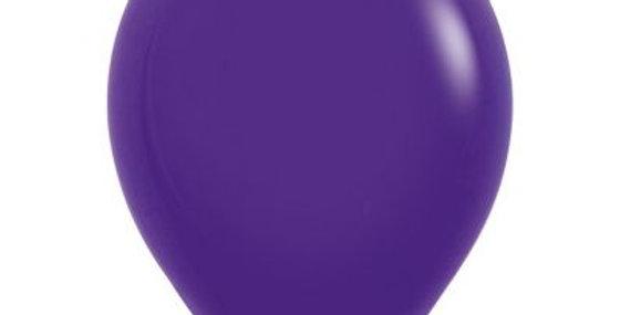 Standard Purple Helium Balloon 30cm each