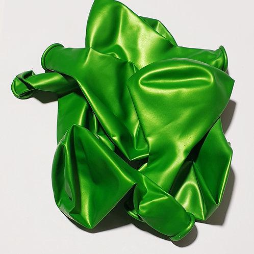 Metallic Lime Balloon - 30cm - each