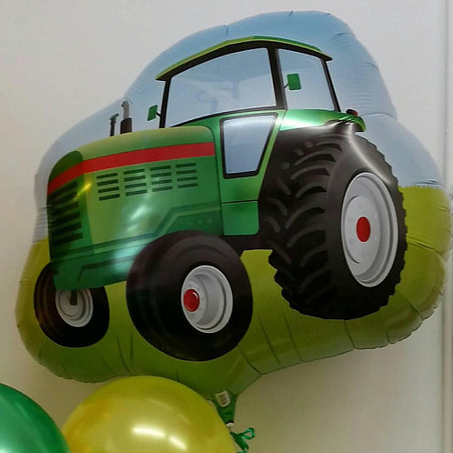 Tractor Supershape Foil Balloon