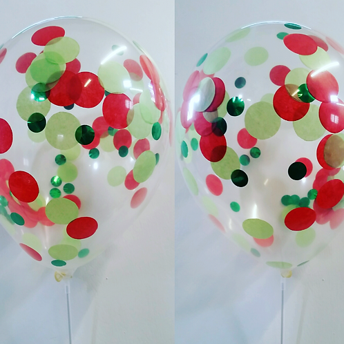 Hungry Caterpillar Confetti Balloons - Pkt of 1