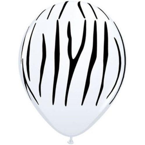 Zebra Print Balloon PKT 5