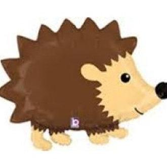 "Woodland Hedgehog Foil - 36"""
