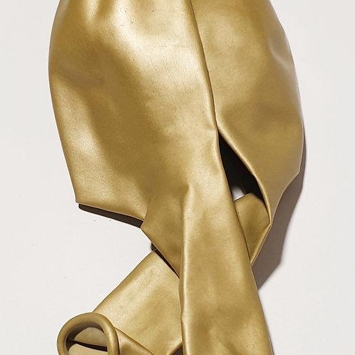 Chrome Gold Balloon - 28cm - each