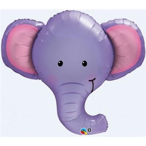 Elephant Head Supershape Balloon