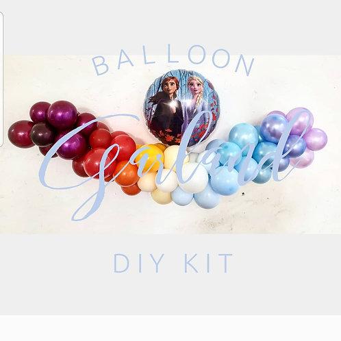 Frozen II Mini Balloon Garland DIY Kit