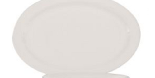 Oval Entree Plate Round Hire - Box of 10